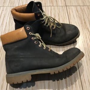 Timberlands men size 11 all leather upper